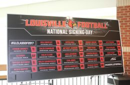 2017 National Signing Day Big Board 2-1-2017 Photo By Mark Blankenbaker TheCrunchZone.com