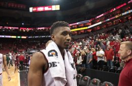 Donovan Mitchell Louisville vs. Texas Southern 12-10-2016 Photo by William Caudill TheCrunchZone.com