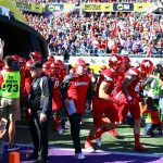 Entrance, Bobby Petrino, Cole Hikutini Citrus Bowl Louisville vs. LSU 12-31-2016 Photo by William Caudill TheCrunchZone.com