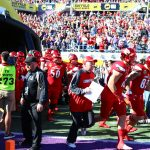 Entrance, Bobby Petrino Citrus Bowl Louisville vs. LSU 12-31-2016 Photo by William Caudill TheCrunchZone.com