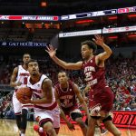 Quentin Snider Louisville vs. Boston College 1-21-2018 Photo by William Caudill, TheCrunchZone.com