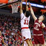 Jordan Nwora Louisville vs. Boston College 1-21-2018 Photo by William Caudill, TheCrunchZone.com