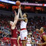 Ray Spalding Louisville vs. Boston College 1-21-2018 Photo by William Caudill, TheCrunchZone.com