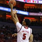 Malik Williams Louisville vs. Boston College 1-21-2018 Photo by William Caudill, TheCrunchZone.com