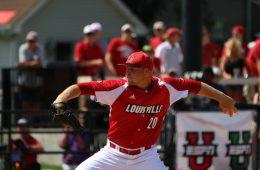Drew Harrington Louisville vs. Wright State 6-5-2016 Photo by William Caudill