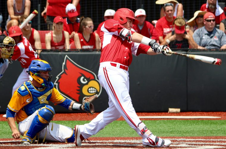 Louisville's McKay ties longtime school record with four-homer game
