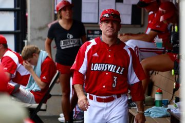 Dan McDonnell Louisville vs. UC Santa Barbara NCAA Regional Game 2 Photo by William Caudill 6-12-2016