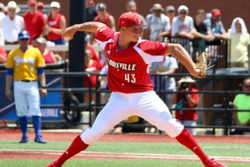 Zack Burdi Louisville vs. UC Santa Barbara NCAA Regional Game 2 Photo by William Caudill 6-12-2016