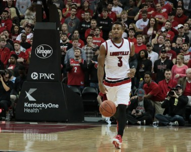 Trey Lewis Louisville vs. Pittsburgh 1-14-2016 Photo by William Caudill