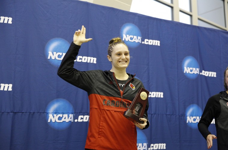 Kelsi Worrell Photo provided by UofL Sports Information/Jeff Reinking