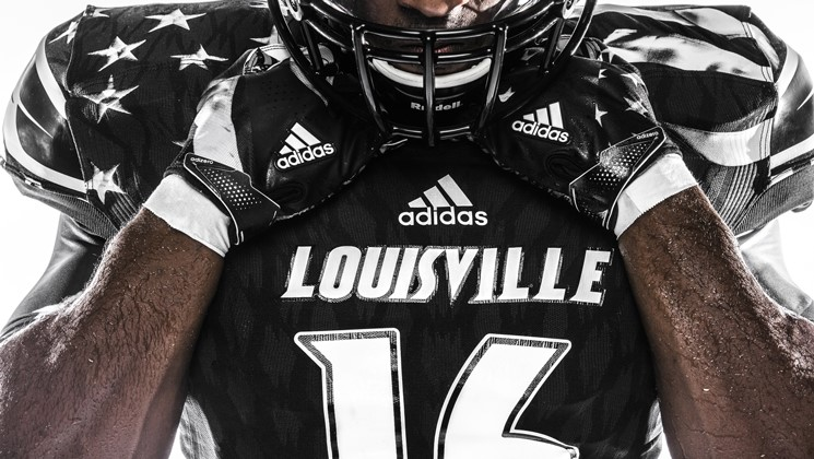 """97df9d7e2 Louisville to Wear """"Young Patriot"""" Uniforms vs. Wake Forest – The ..."""