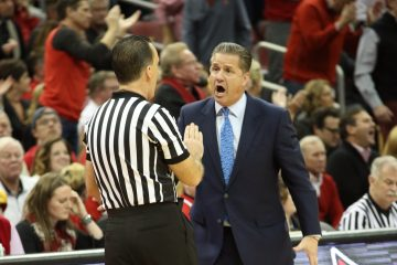John Calipari Louisville vs. Kentucky 12-21-2016 Photo by William Caudill TheCrunchZone.com