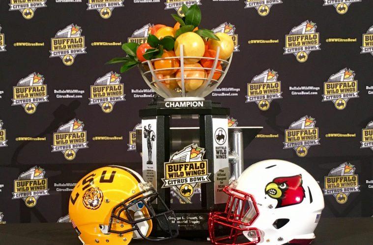 Citrus Bowl Louisville vs. LSU 12-30-2016 Photo by William Caudill TheCrunchZone.com
