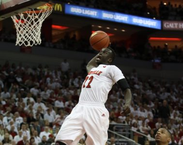 Deng Adel Louisville vs. NC State 1-29-2017 Photo By William Caudill TheCrunchZone.com
