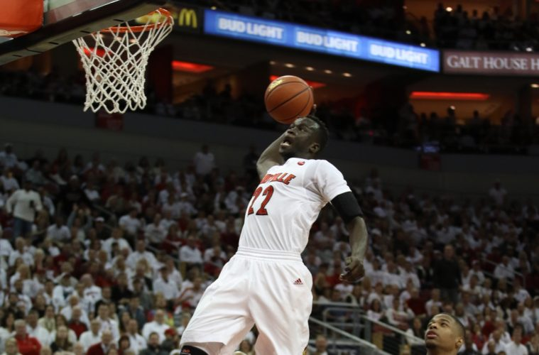 Louisville forward Deng Adel to return for his junior season