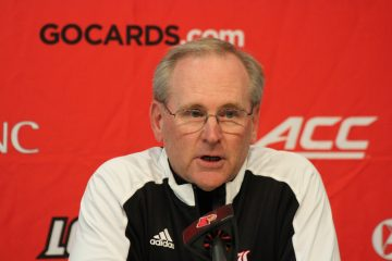 Mike Summers Introductory Press Conference Louisville Football 1-30-2017 Photo By Mark Blankenbaker TheCrunchZone.com