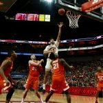 Anas Mahmoud Louisville vs. Syracuse 2-26-2017 Photo by William Caudill TheCrunchZone.com