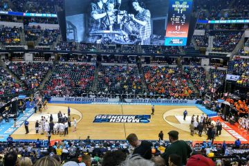 Banker's Life Field House Indianapolis Michigan vs. Oklahoma State NCAA 1st Round 3-16-2017 Photo by Ashley Satterfield