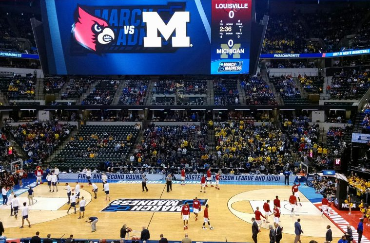 Louisville vs. Michigan Banker's Life Field House Indianapolis NCAA 2nd Round 3-19-2017 Photo by Ashley Satterfield