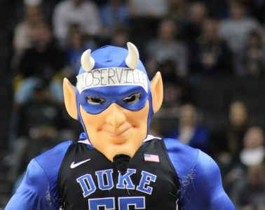 Loserville Blue Devil Louisville vs. Duke 3-9-2017 Photo by Mark Blankenbaker TheCrunchZone.com