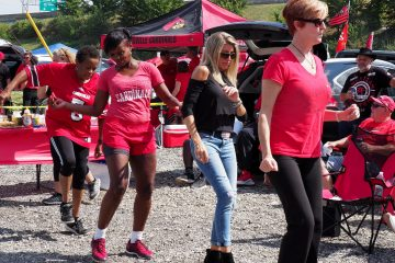 Tailgating Louisville vs. Purdue 9-2-2017 Photo by Cindy Shelton, TheCrunchZone.com