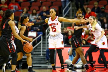 Asia Durr Louisville vs. Southeast Missouri by William Caudill, 11-10-2017, TheCrunchZone.com