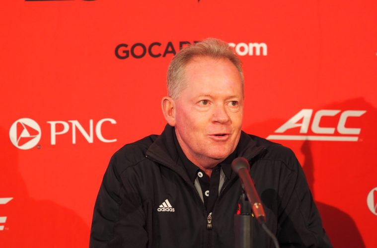 Bobby Petrino 2-1-2018 Photo by Cindy Rice Shelton, TheCrunchZone.com