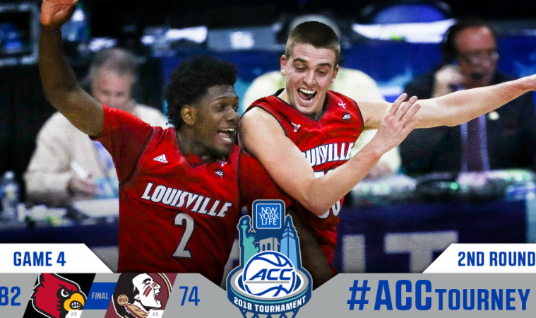 COLLEGE BASKETBALL: Louisville will try to get off the NCAA Tournament bubble