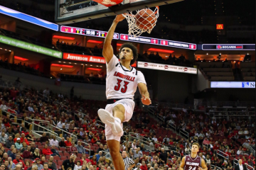 Jordan Nwora Louisville vs. Bellarmine 10-28-2018 Photo by William Caudill TheCrunchZone.com