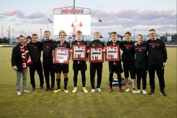 Senior Night Louisville Soccer vs. Clemson 10-20-2018 Photo by Daryl Foust TheCrunchZone.com