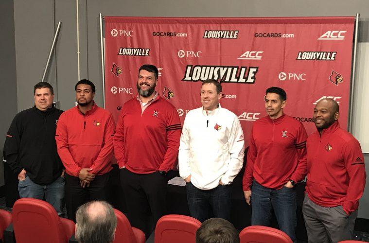 Stu Holt, ShaDon Brown, Dwayne Ledford, Scott Satterfield, Frank Ponce, Bryan Brown TheCrunchZone.com Photo by Mark Blankenbaker