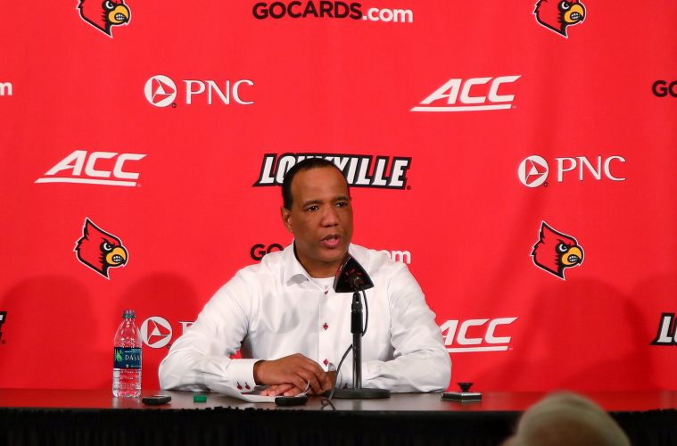 Kevin Keatts Louisville vs. NC State Post-Game 1-24-2019 Photo by William Caudill, TheCrunchZone.com