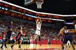 Kylee Shook Louisville vs. Virginia 1-17-2019 Photo by William Caudill TheCrunchZone.com