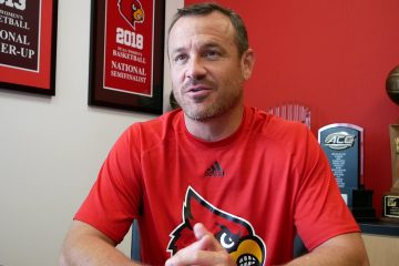 Jeff Walz Louisville Women's Basketball 6-27-2019 Photo by Tom Farmer, TheCrunchZone.com