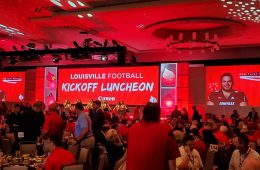 2019 Louisville Football Kickoff Luncheon 8-12-2019. Photo by Tom Farmer, TheCrunchZone.com