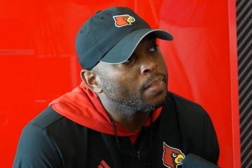 Bryan Brown Louisville Football Fall Camp 8-6-2019. Photo by Tom Farmer, TheCrunchZone.com