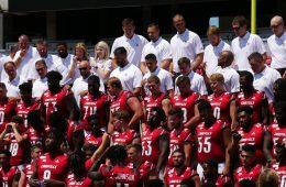 2019 Team Photo Louisville Football Media Day 8-23-2019. Photo by Tom Farmer, TheCrunchZone.com