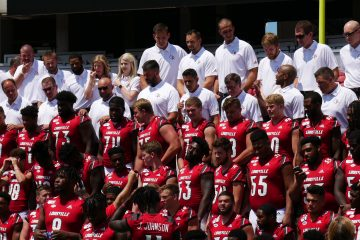 2019 Team Photo Louisville Football Media Day 8-23-2019. Photo by Tom Farmer, TheCrunchZone.com