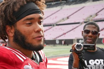 Danya Kinnaird Louisville Football Fall Camp 8-22-2019. Photo by Tom Farmer, TheCrunchZone.com