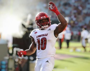Javian Hawkins Louisville vs. Florida State 9-21-2019 Photo by Nancy Hanner TheCrunchZone.com