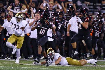 Javian Hawkins Louisville vs. Notre Dame 9-2-2019 Photo by William Caudill, TheCrunchZone.com
