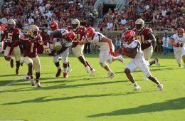 Javian Hawkins Louisville vs. Florida State 9-21-2019 Photo by Mark Blankenbaker TheCrunchZone.com