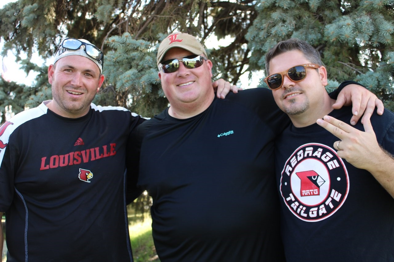 Red Rage Tailgate Louisville vs. Notre Dame, Photo by Chrissy Banta 9-2-2019, TheCrunchZone.com