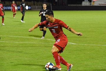 Louisville Soccer vs Belmont Photo by Daryl Foust TheCrunchZone.com 10-1-2017