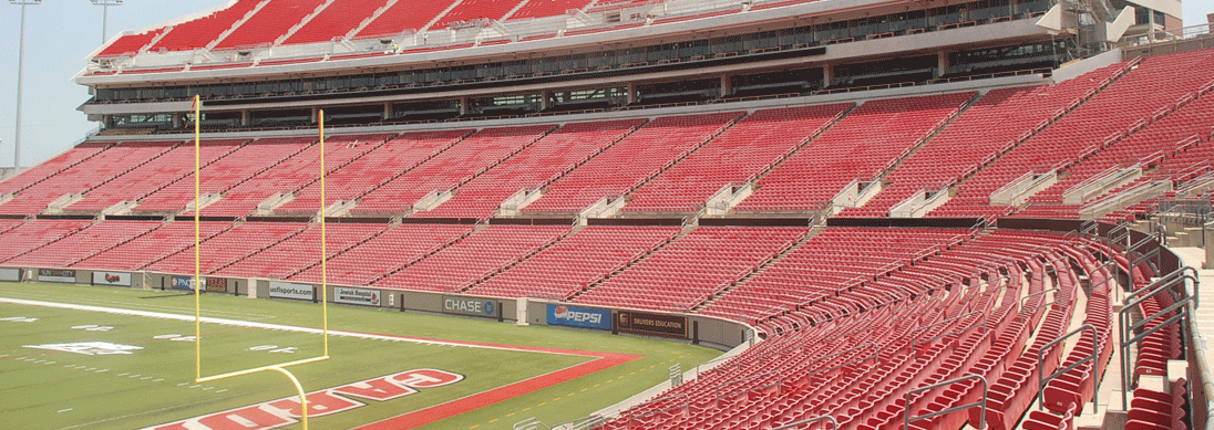 Papa Johns Cardinal Stadium Empty From TheCrunchZone Photo By Mark Blankenabker