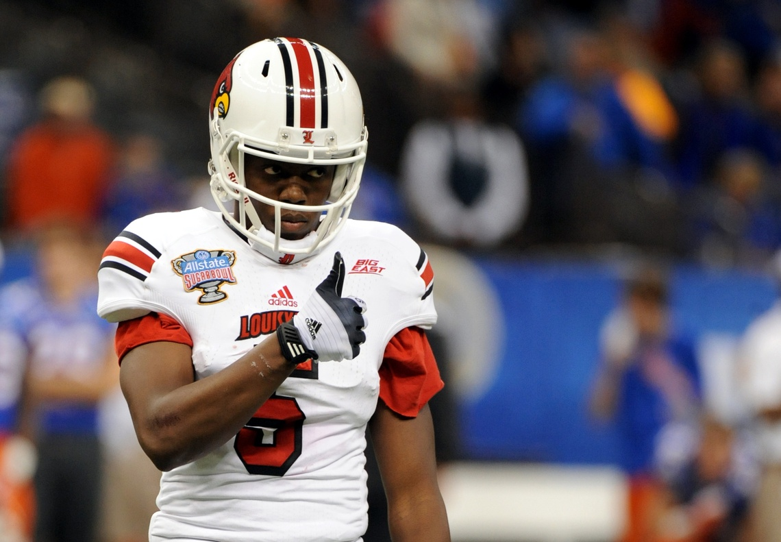 Teddy Bridgewater Sugar Bowl Photo By Mike Lindsay