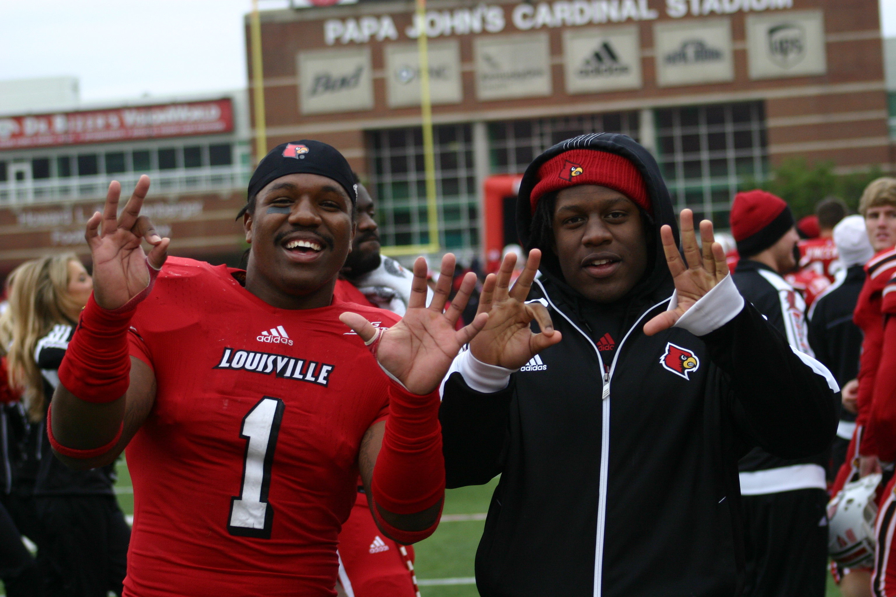 Keith Brown & Lamar Atkins Photo by Chris Hatfield