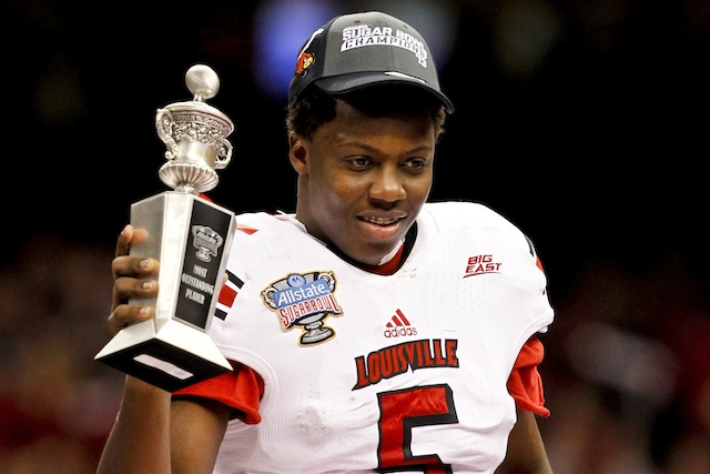 Teddy Bridgewater MVP 2013 Sugar Bowl Louisville vs. Florida
