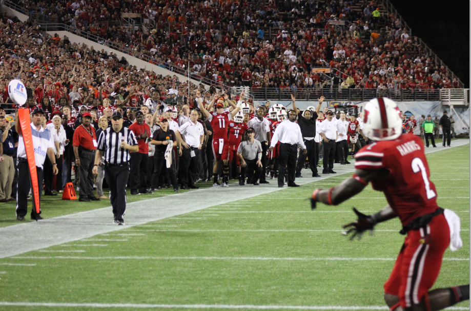 Michaelee Harris Touchdown Louisville vs. Miami 2013 Russell Athletic Bowl