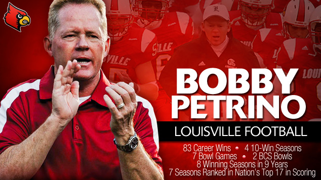 Bobby Petrino Returns to Louisville